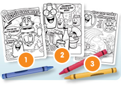 Captain Cullet coloring pages
